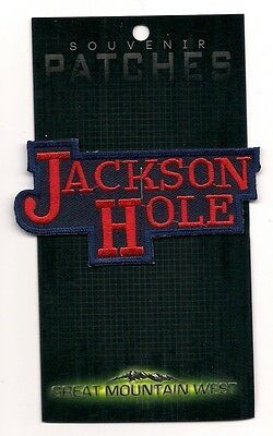 Jackson Hole Souvenir Ski Patch