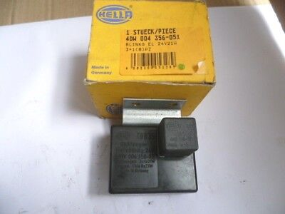 Centrale clignotante  24V-21W HELLA 4DW004356-051 camions Mercedes-RENAULT TRUCK