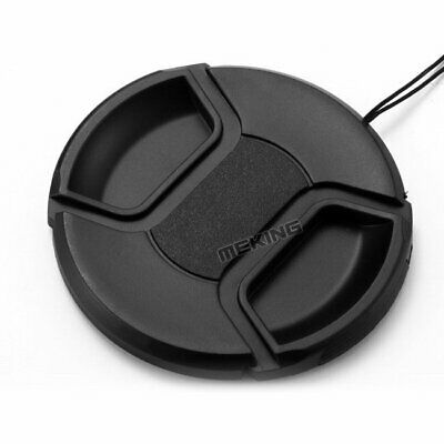 New 52mm Snap-on Lens Cap Cover with Cord for Canon Nikon DSLR Lens