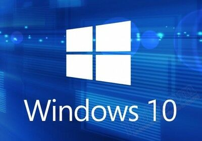 Microsoft Windows 10 home Key Activation OEM Product License Code 32 64 bit