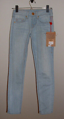 Nwt True Religion Brooklyn Lonestar Tulsa Low Rise Skinny Stretch Jeans Size 23