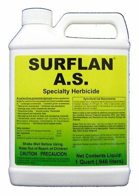 Southern Ag Surflan A.S. Specialty Herbicide Pre-Emergent Herbicide with 32oz 1