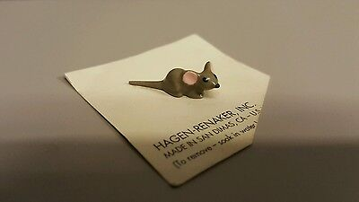 Hagen Renaker Mouse Baby Figurine Ceramic Miniature FREE SHIPPING