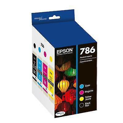 Epson America - T786120-BCS - 786 BLK and Color Combo Pack