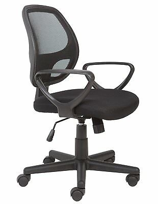 Mesh Back Swivel Desk Chair With Torsion Control Home Office Seat Furniture