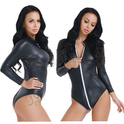 WOMEN/'S NyLon//Lycra Catsuit Bodysuit Jumpsuit CATSUIT Suspenders Leggings Tops
