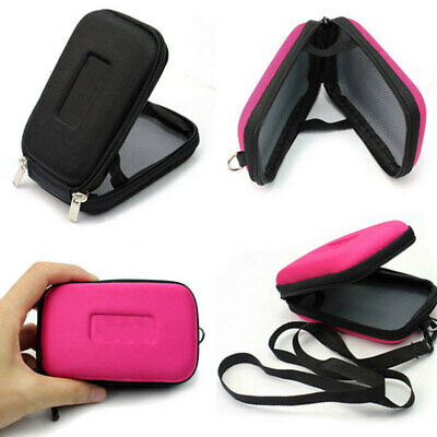 Zipper Pouch Case Cover Protector With Strap For Compact-Digital Camera Hot 1pcs