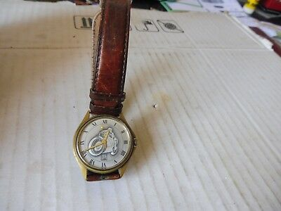 MONTRE VINTAGE GUY CLARAC 811 MOTO made in France EUR
