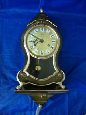 Swiss Comtesse Neuchatel Bell Strike Mantle/Shelf Clock, Fully Working
