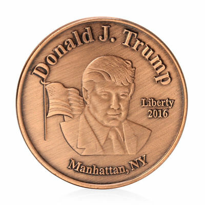 Us 45th President Donald Trump Commemorative Coin Collection Gifts
