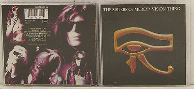 The Sisters of Mercy: Vision Thing CD Album (e1851)