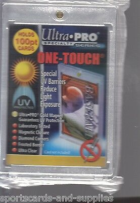 15 ULTRA PRO ONE TOUCH MAGNETIC HOLDERS 75pt 100pt 130pt and 180pt Mix & Match
