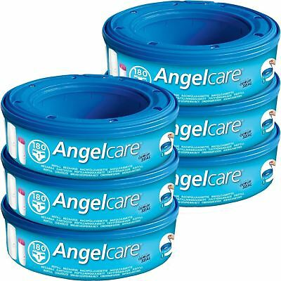 Angelcare Nappy Refill Cassettes Disposal System Wrappers Bags Sacks Multi-Pack