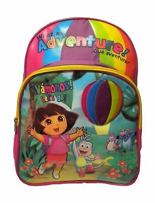 Dora the Explorer - Dora and Boots Fun in the Jungle Large Purple Backpack