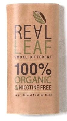 Real Leaf Organic Natural  30g