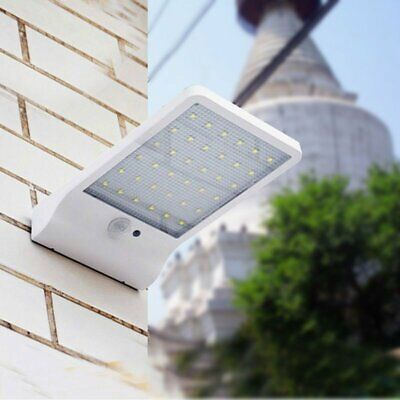36 LED Solar Powered Motion Sensor Garden Security Lamp Outdoor Waterproof Light