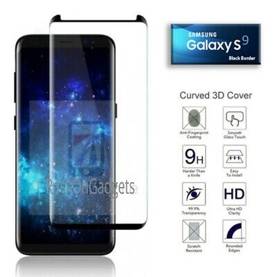 For Samsung Galaxy S9 3D Full Curved Tempered Glass LCD Screen Protector