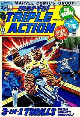 Us Comics Marvel Triple Action Bronze Age Collection On Dvd