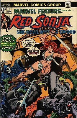 Red Sonja She-Devil With A Sword Comics On Dvd