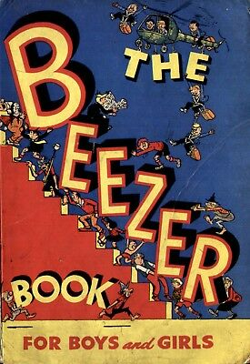 Uk Comics Beezer Book Collection Of Annuals On Dvd