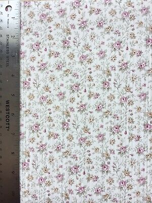 Dollhouse Vintage Floral Wallpaper