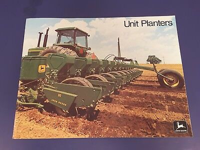 Vintage John Deere Planter Sales Literature - #71 Flexi, 51 Unit, 80 Plateless