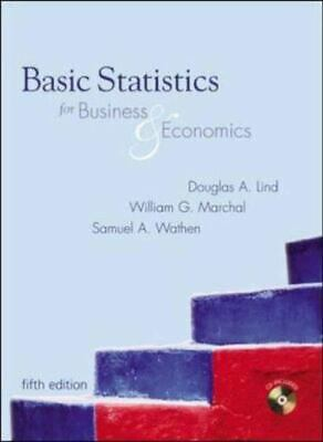Basic Statistics for Business and Economics 6th Edition