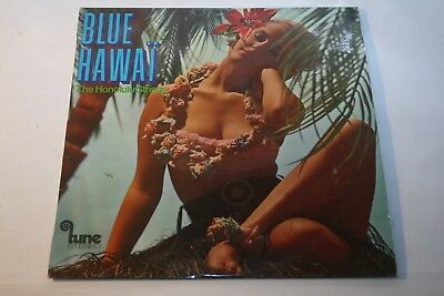 Sexy Cheesecake Cover: The Honolulu Strings - Blue Hawaii - LP Tune