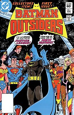 Us Comics Batman & The Outsiders Collection On Dvd