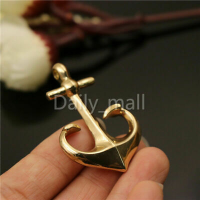 Solid Brass Vintage Boat Anchor Pendants charms Key pendants wholesale
