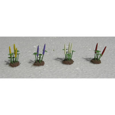 """JTT Scenery Products - O Lupines, 1"""" tall (8)"""