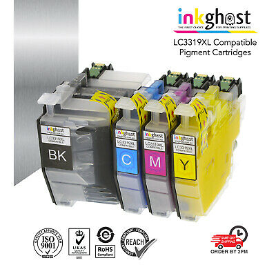 LC3319XL PIGMENT Compatible Ink Cartridges for Brother MFC-J5730DW printer