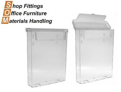 Outdoor Acrylic Plastic Brochure Holder A5 Display