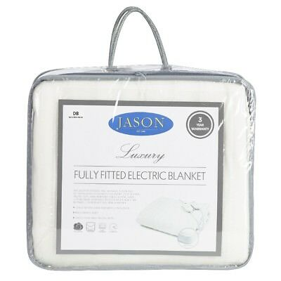 NEW Jason Fitted Electric Blanket By Spotlight