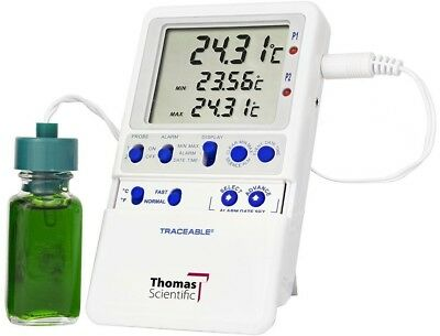 Thomas Traceable Hi-Accuracy Refrigerator Thermometer, with 1 Bottle Probe, -58