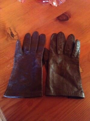 Butter Soft Equestrian Kid Gloves Size Ladies Small