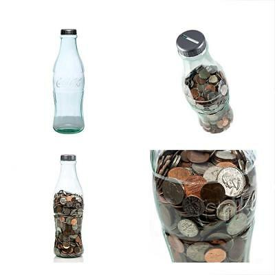 Coca-Cola Coke Categories Bottle Bank For Saving And Storing Coins Paper Money