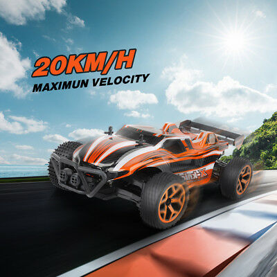 Rechargeable Racing Car Buggy High Speed RC Car 1/18 2.4G Remote Control USB