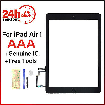 For iPad Air 1 A1474 A1475 A1476 Touch Screen Digitizer Replacement Black +Tools