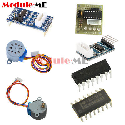 ULN2003 Stepper Motor Driver 5V/12V 28BYJ-48 4 Phase Step Motor for Arduino UK