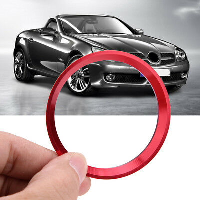 Vehicle Steering Wheel Decor Cover Ring Trim for Mercedes Benz W246 W176 Red ZY