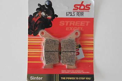 SBS 675LS Bremsbelag hinten KTM Duke 690, Super Duke 990 pair of rear brake pads