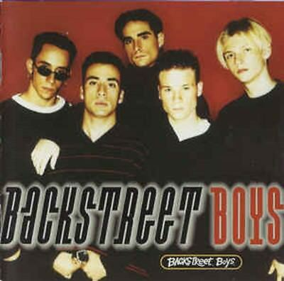 CD Backstreet Boys ‎– Backstreet Boys