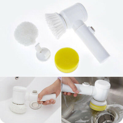 Multi-function Electric Bath Cleaning Brush 5 in 1 Magic Brush Household Tool