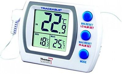 Thomas 4727 Traceable Memory Monitoring Plus Thermometer, 0.75 Probe Length, to