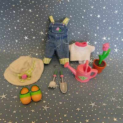 """Madeline 8"""" doll Eden/LearningCurve **  GREEN THUMB  **  Outfit Clothes Set"""