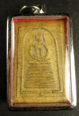 Phra Somdej Buddha Amulet From Wat Bang Phra Temple Thailand The King Of Amulets