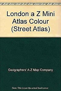 A-Z of London Mini Street Atlas, Geographers A-Z Map Company, Used; Good Book