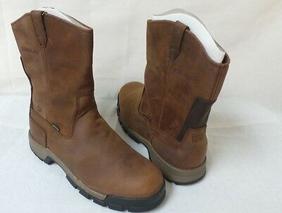 b0c38b4005f NEW! WOLVERINE MENS Gear Waterproof Composite Toe EH Pull On Boots-Style  W10152