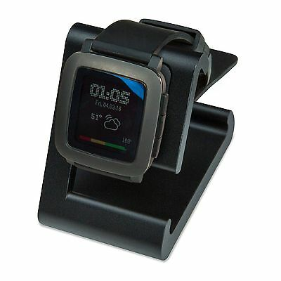 REFURBISHED TimeDock Pebble Time Dock for Charging, Stand - Black
